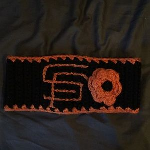 Giants knit headband